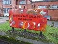 Bilston Craft Gallery and Library - Mount Pleasant, Bilston - sign (25810343398).jpg
