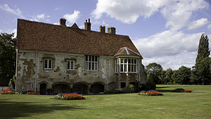 William Montagu, 1st Earl of Salisbury - Salisbury's residence of Bisham Manor in Berkshire.