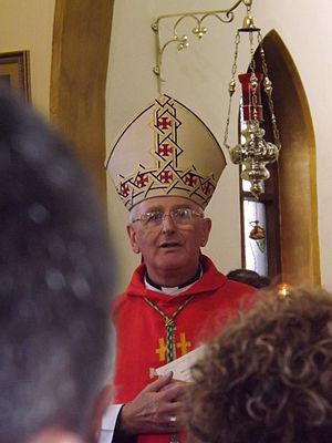 Tom Burns (bishop) - Image: Bishop Tom 2013