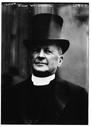 William Lawrence (bishop) - William Lawrence (between 1910 and 1915)