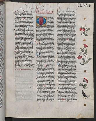 Biterolf und Dietleib - Beginning of Biterolf und Dietleib. Austrian National Library Cod. ser. nova 2663 fol. 166r