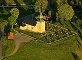 Fil:Bjurums kyrka, kyrkobyggnad i Bjurum i Skara stift, Gudhems församlin, Falköping, Västra Götaland, Sverige.jpg