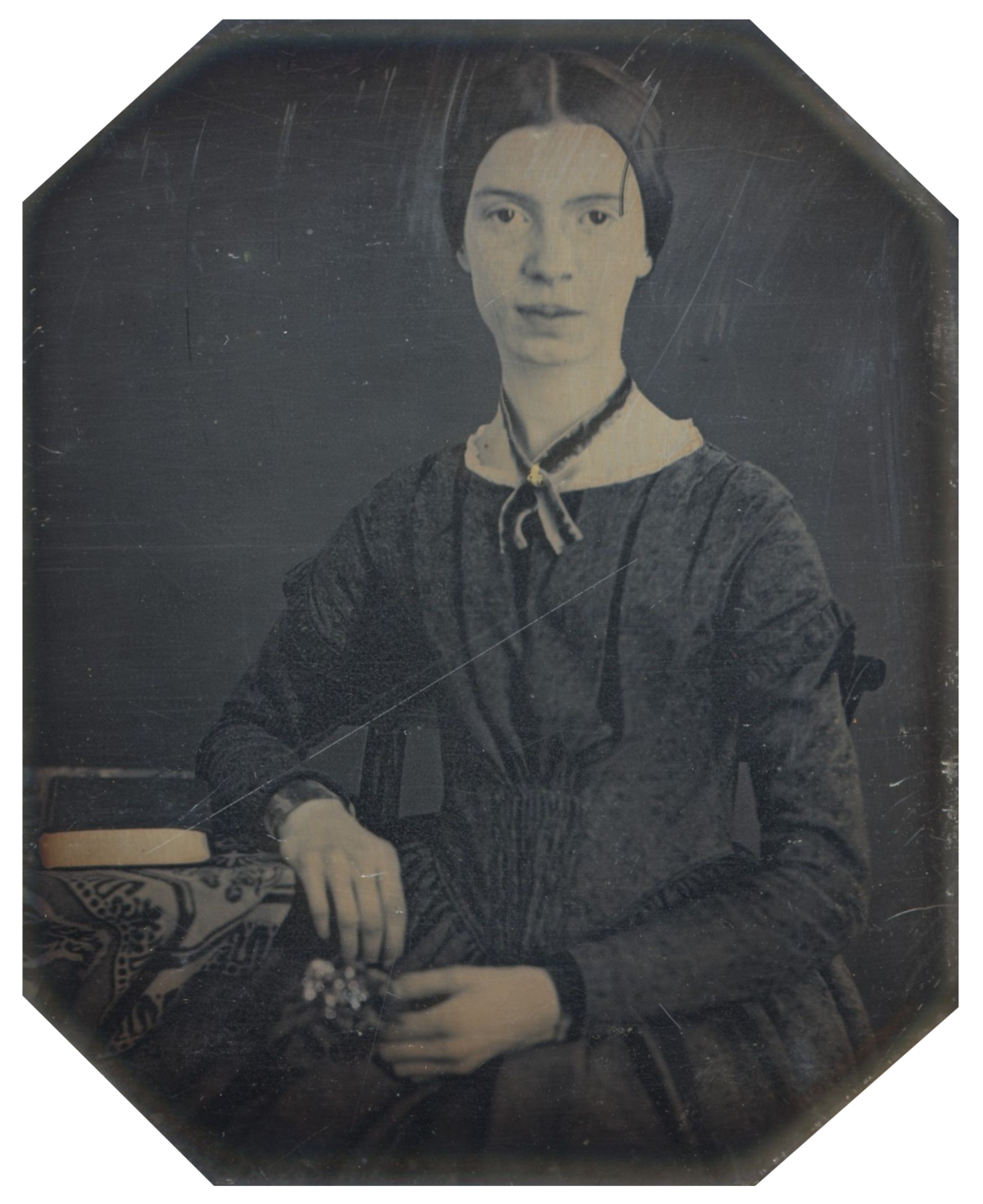 Emily Dickinson Wikipedia px Black White Photograph Of Emily Dickinson Emily Dickinson