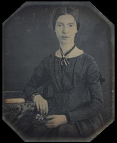 Emily Dickinson, december 1846 eller begyndelsen af 1847.