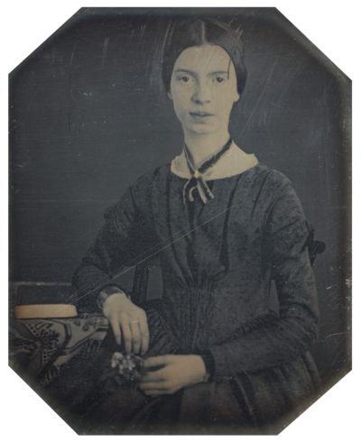 Picture of an author: Emily Dickinson