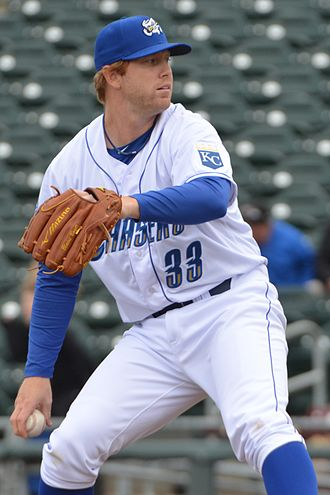Blaine Boyer - Boyer pitching for the Omaha Storm Chasers in 2013