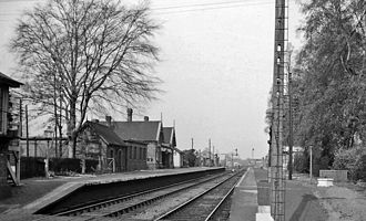 Great Northern and Great Eastern Joint Railway - Image: Blankney & Metheringham Station 1831288 9d 802990