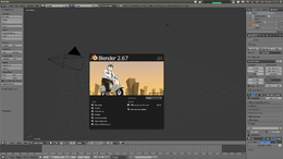 Interfaccia di base di Blender 2.67