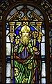 Blessed Sacrament Church (Newark, Ohio) - stained glass, St. Patrick.jpg