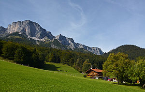 Untersberg - Eastern slope of the Berchtesgaden Hochthron