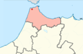 Bni Makada district loacation in Tanger-Tetouan-Al Hoceima region.png