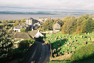 Bo'ness - Image: Bo'ness, view over town geograph.org.uk 448349