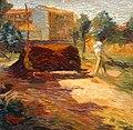 Boccioni - Periferia, 1909, 29.5 × 30cm.jpg