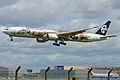 Boeing 777-319ER ZK-OKP Air New Zealand (9086354795).jpg