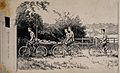 Boer War; field cycle ambulance. Pen and ink drawing. Wellcome V0015528.jpg