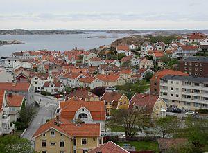 Bohuslän - Lysekil, an old fishing-village in Bohuslän