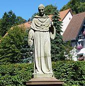 Denkmal von Franz Xaver Reich aus dem Jahr 1856 im Bonndorfer Martinsgarten (vor der Restaurierung von 2011/2012) (Quelle: Wikimedia)