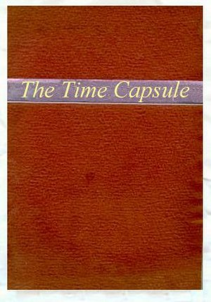 Westinghouse Time Capsules -  Mock-up representation of hand-made paper cover