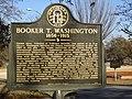 Booker T. Washington Historic Marker in Piedmont Park, Atlanta.jpg