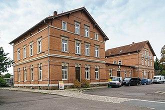 Borsdorf - Borsdorf train station
