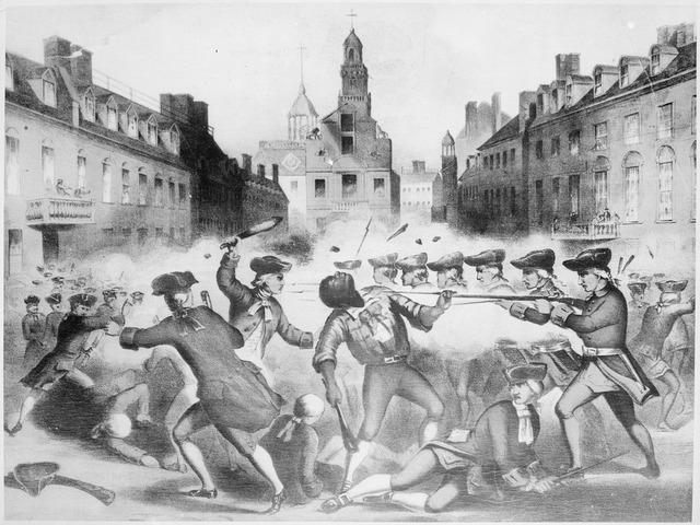 Essay questions boston massacre