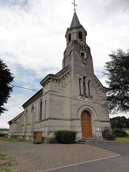 Bourguignon-sous-Coucy (Aisne) église