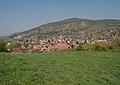 Bratislava-Devín - pohled z hradu Devín na sever zástavby městské části.jpg