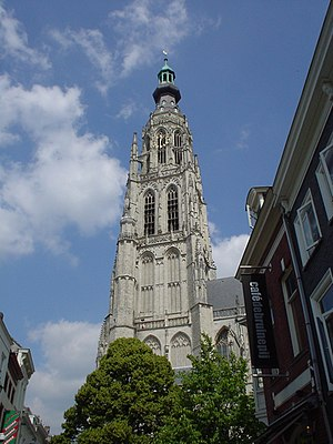 Grote Kerk (Breda) - Image: Breda Tower