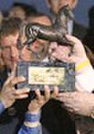 "Breeders' Cup trophies - ""Breeders' Cup Trophy"" is presented to the winner of every Breeders' Cup race"