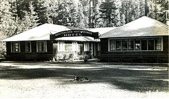 Breitenbush Hot Springs - Breitenbush Hot Springs Hotel, circa 1955