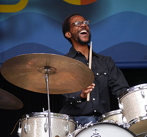 Brian Blade - Blade at the 2014 Monterey Jazz Festival