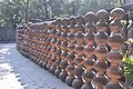 Brick wall? How about a wall made from earthen pots? (43555029744).jpg
