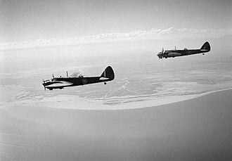 Woyane rebellion - RAF Bristol Blenheim's helped to suppress the rebellion