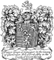 Britannica Book-Plates - Francis Gwyn of Lansanor 1698.png