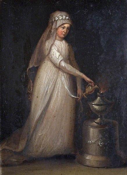 File:British (English) School - Portrait of a Woman as a Vestal Virgin - 1313475 - National Trust.jpg
