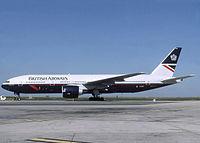 G-ZZZA - B772 - British Airways