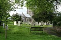 Broadhembury, churchyard - geograph.org.uk - 173807.jpg