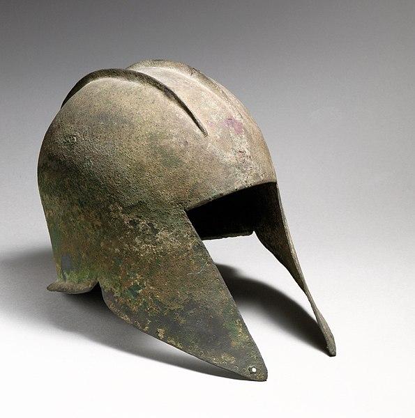 File:Bronze helmet of Illyrian type MET DP21093.jpg