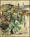 Brooklyn Museum - The Village of Gardanne (Le Village de Gardanne) - Paul Cézanne.jpg