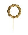 Brosch, av guld - Hallwylska museet - 109865.tif