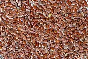 Brown Flax Seeds.