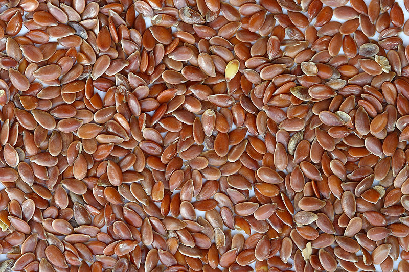 File:Brown Flax Seeds.jpg