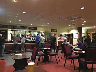 Brudenell Social Club - The main bar area at Brudenell Social Club, pictured in May 2017.