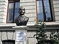 Bucuresti, Romania, Piata Romana nr. 6 (ASE) (Statuia lui Nicolae D. Xenopol 2); B-II-m-B-19579.JPG