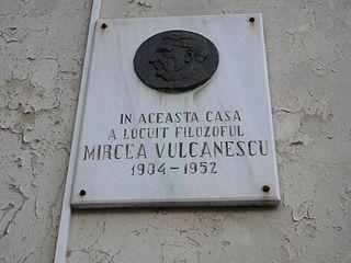 Romanian philosopher