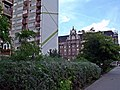 Budapest IX., Haller utca 78 előtt állva a 88-as szám felé nézve. - panoramio.jpg