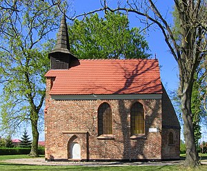 Kołobrzeg - St John's, a remains of the early medieval settlement in modern Budzistowo