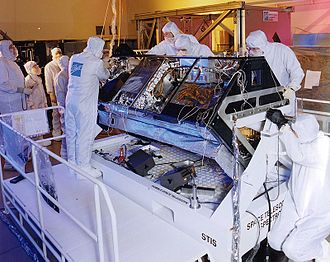 Space Telescope Imaging Spectrograph - STIS under construction, 1996