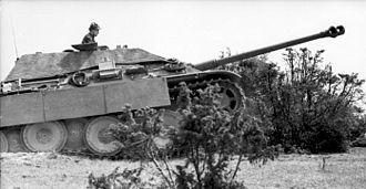 Jagdpanther - Jagdpanther in Northern France.