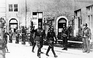 Bendlerblock - Waffen-SS officer Otto Skorzeny enters the Bendlerblock, July 1944